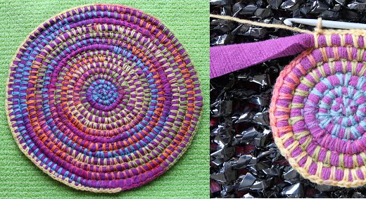 Tapetes y alfombras de trapillo y lana for Alfombras y tapetes