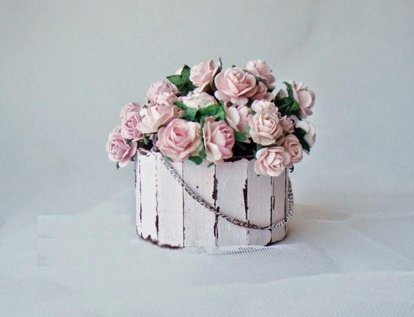 Haz Un Arreglo Floral Con Tubos De Cartón Reciclados