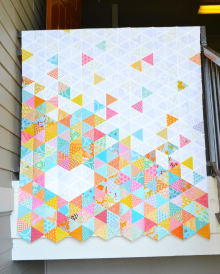 quilt%2Bcor%2Btriangles%2Bhanging