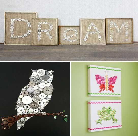 ManualidadesGratis — 33 Ideas para crear y decorar cuadros con ...